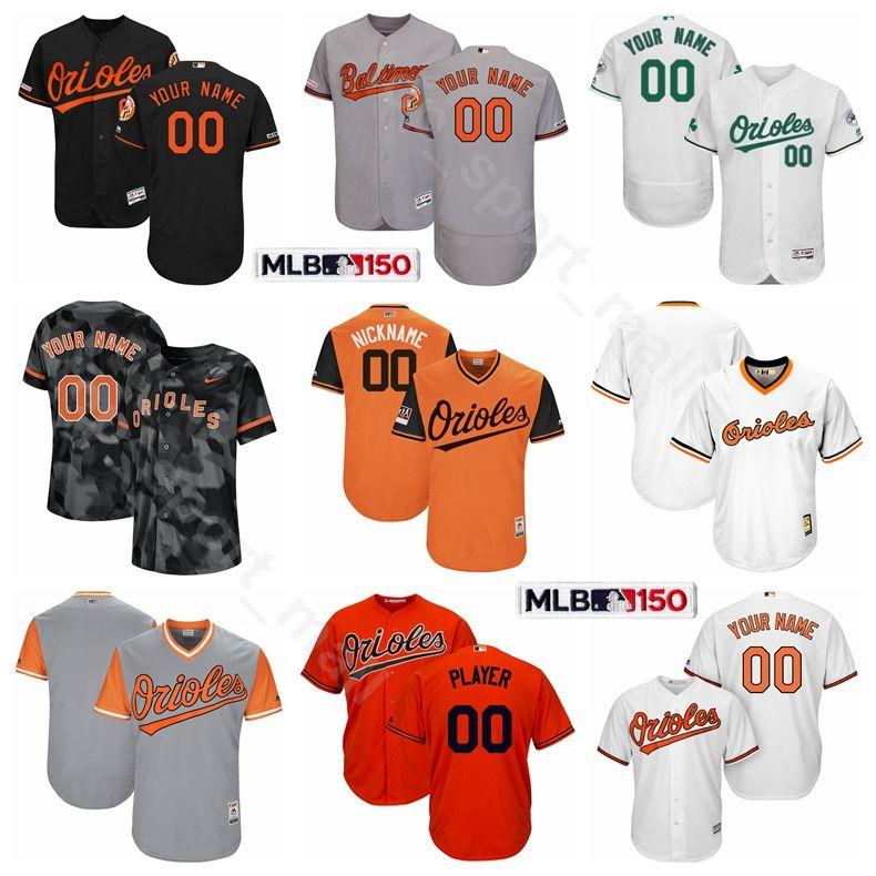 f44167da223 2019 Baltimore Baseball Orioles Flexbase 2 Jonathan Villar Jersey 16 Trey  Mancini 35 Dwight Smith Jr. 39 Renato Nunez 14 Rio Ruiz Chris Davis From ...