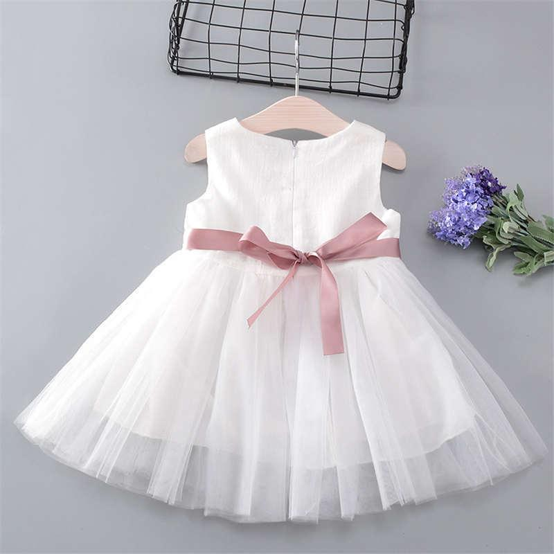 Baby & Toddler Clothing Fast Deliver Kids Baby Girl Sleeveless Tutu Dress Princess Party Sundress Dresses Summer 0-5t High Quality Goods