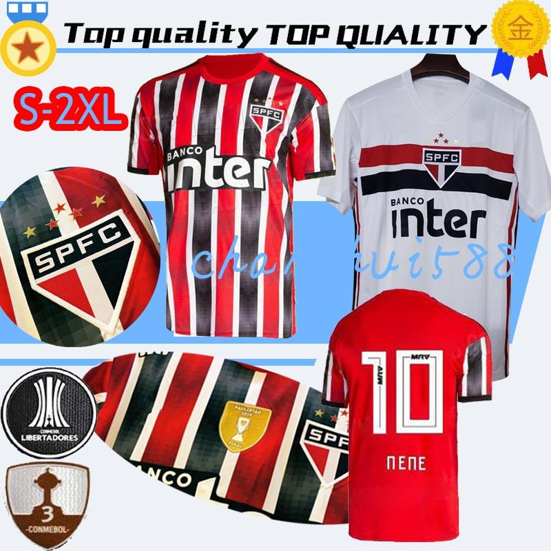 2019 2020 Brazil Sao Paulo soccer jerseys thai home away shirts 19 20 Brasil Sao Paulo shirts football shirts..