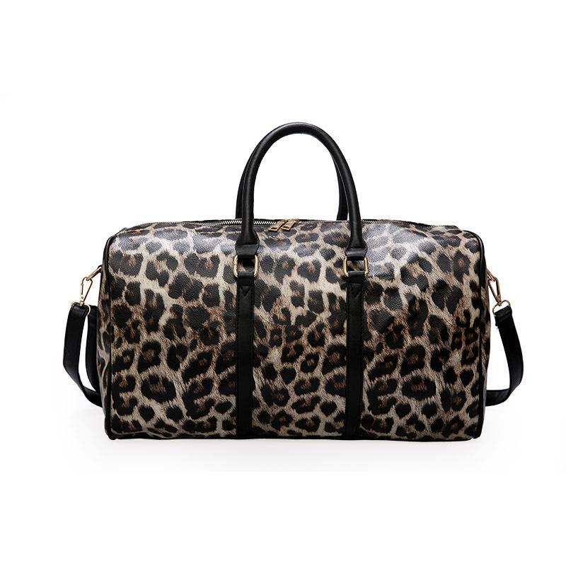 3b6f11a633 2019 HEWOLF Leopard Print Waterproof Women Sport Bag Men Gym Bag Fitness  Travel Handbag Outdoor Sports Male From Portnice