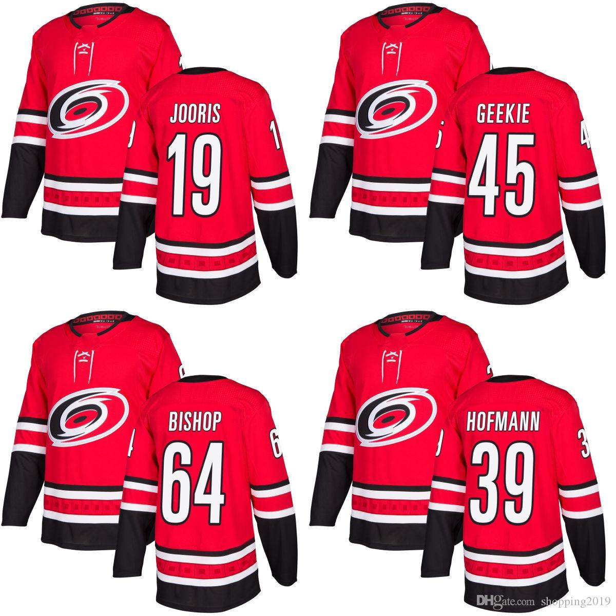 2018 New Brand Carolina Hurricanes 19 Josh Jooris 39 Gregory Hofmann ... 62b9d51ed