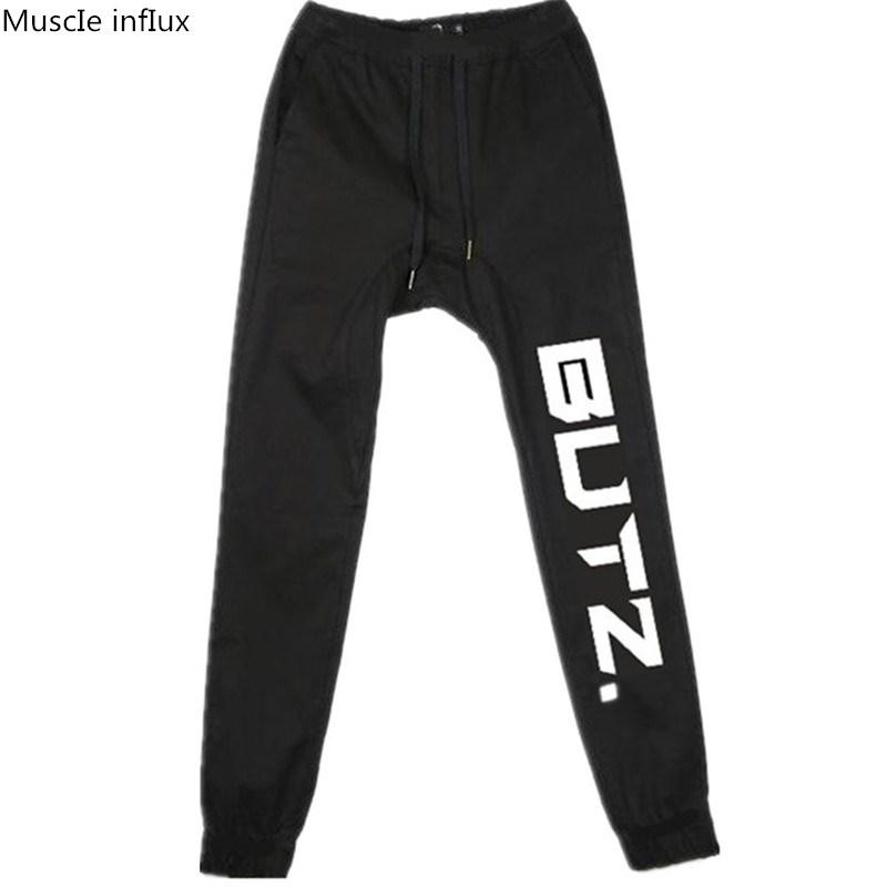 8a8a87014ab 2019 2018 New Gyms Mens Joggers Sweatpants Summer Pants Men Fitness Workout  Sporting Fitness Male Breathable Trousers From Vikey08