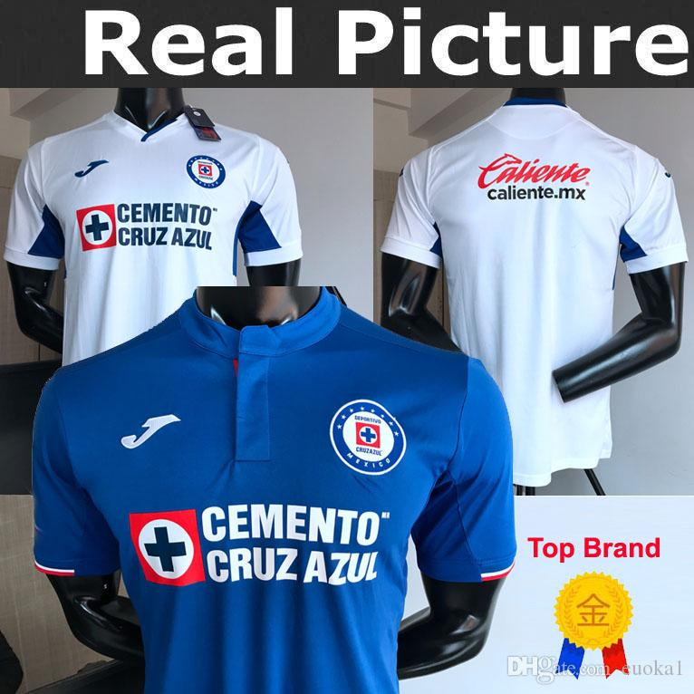 6f54fcf9426 2019 2019 Cruz Azul FC Soccer 23 MARCONE Jersey Men 22 BACA 25 ALVARADO 16  ALDRETE 18 RENTERIA Football Shirt Kits Unifrom Kids Childs Jersey From  Euoka1