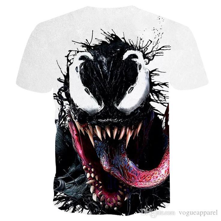 Compre Venom T Shirt Impreso Deportivo En 3D Ropa Hombre Mujer Verano  Camiseta Casual Camisetas Marvel A  17.77 Del Prettyamazing  b7524a12cfded