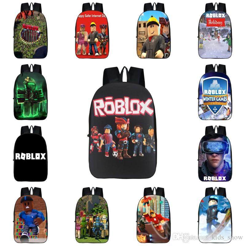446f945f1857 Roblox Game Backpack For Boys Girls 3D Print Personality Shoulder Bag  Students School Bag Suit Teenagers Backpacks Lowest Price Backpack With  Wheels Sale ...