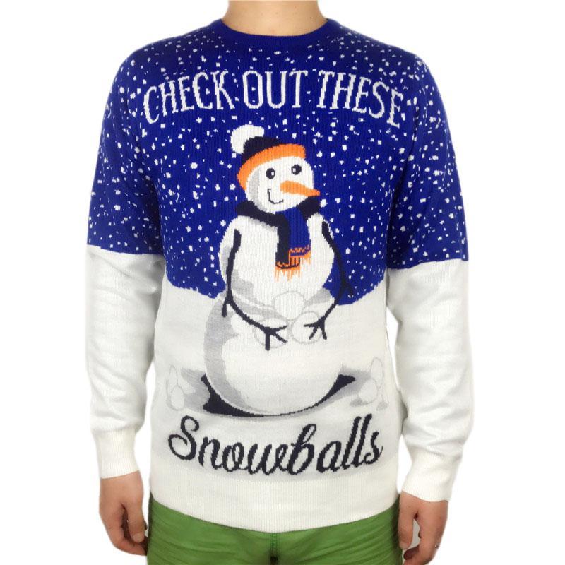 Compre Suéter De Navidad Feo De Punto Divertido Para Hombres Y ...