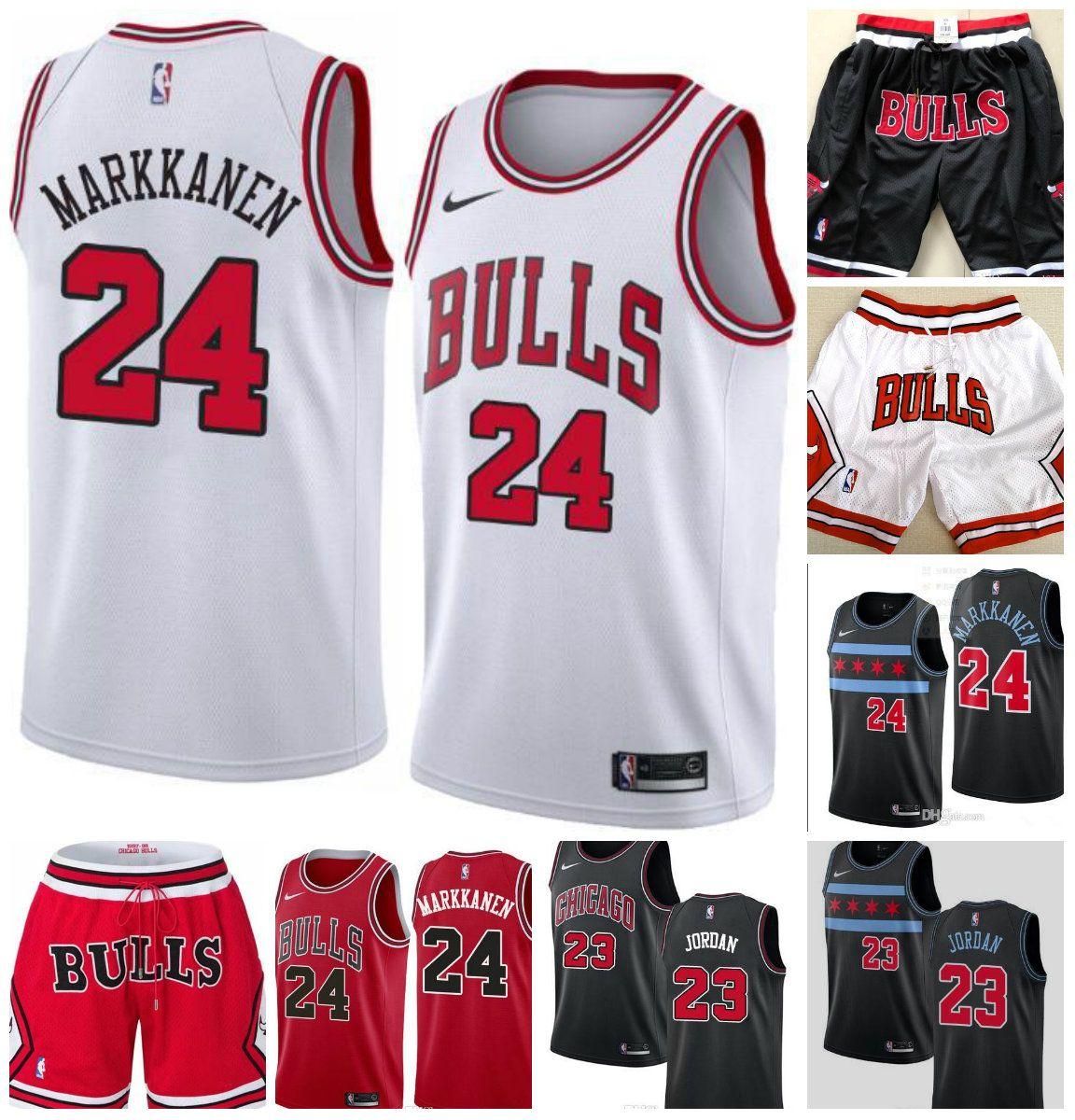 finest selection cc283 e982b TOP High Quality Season Chicago Lavine Jersey Bulls 23 M J 8 Lavine 24  Marcann Embroidered Logo City version Jersey