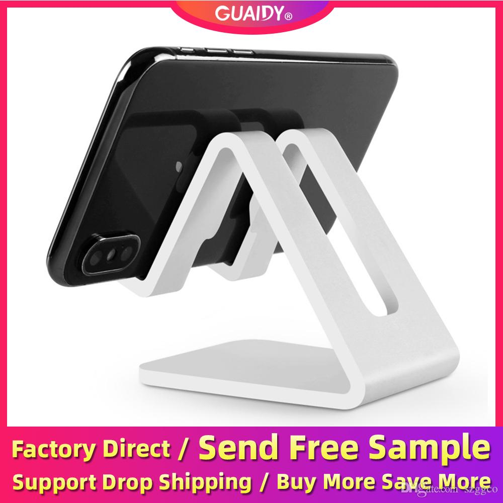Plastic Desktop Stand Phone Holder Lightweight Anti-Slip Wear-resistant Hands-Free Stable Convenient For 7 Inch Mobile Phone Tablets Bracket