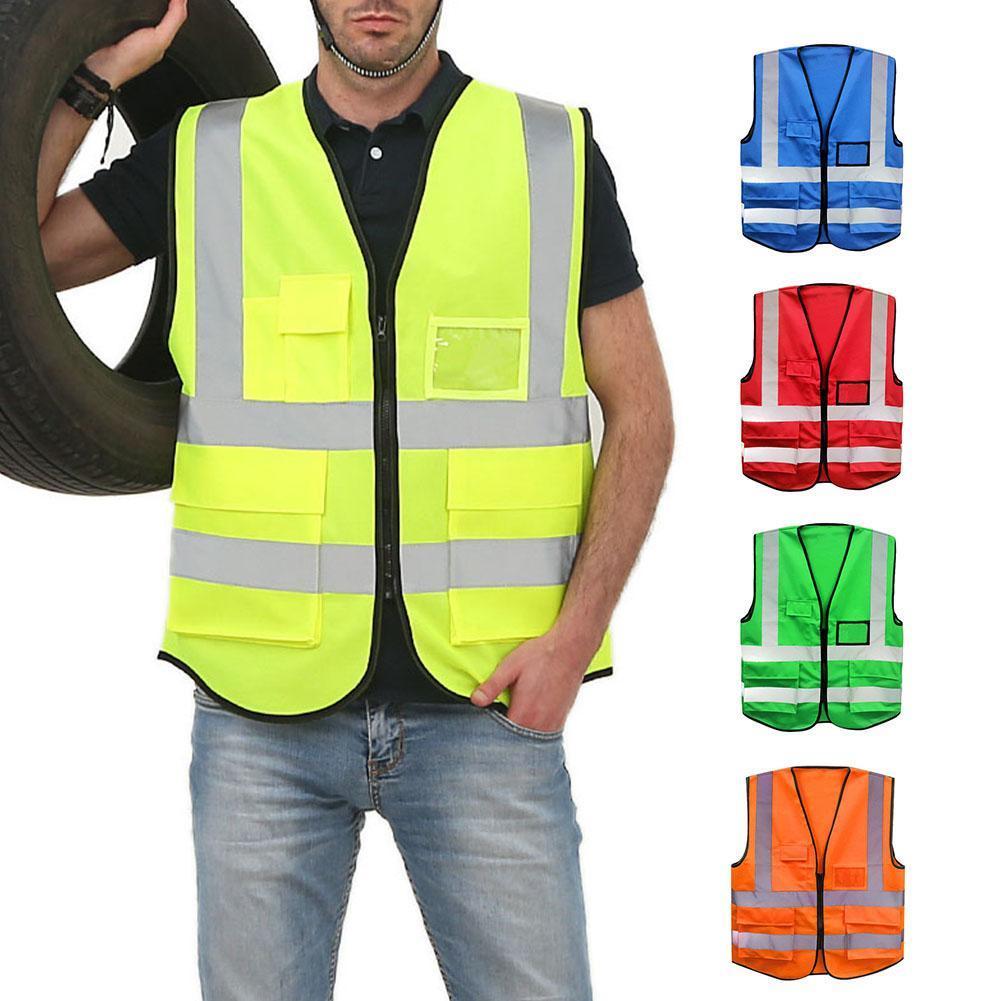 deeae70ff Compre Nova Quente Unisex L XL XXL Colete Refletivo Workwear Fornece Alta  Visibilidade Dia Noite Correr Aviso Ciclo Criança Segurança Colete De  Edward03
