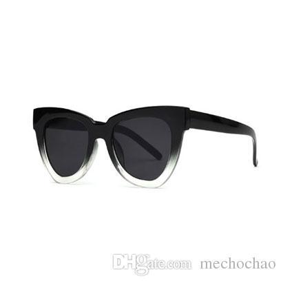 78ee041086 2019 New Women Cat Eye Sunglasses Brand Designer Sun Glasses Female ...