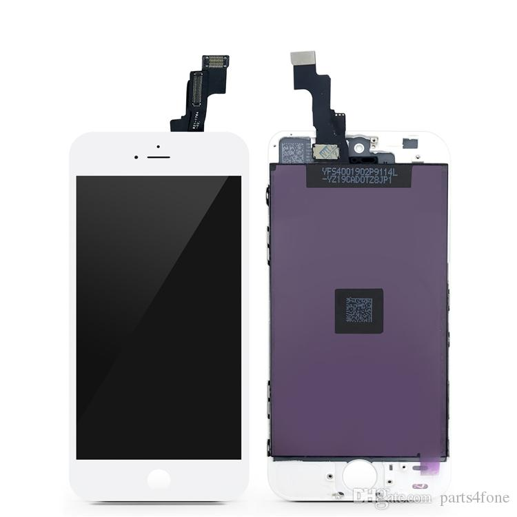 For iphone5s LCD touch screen digitizer Full Assembly Replacement Parts , high quality and new, black and white