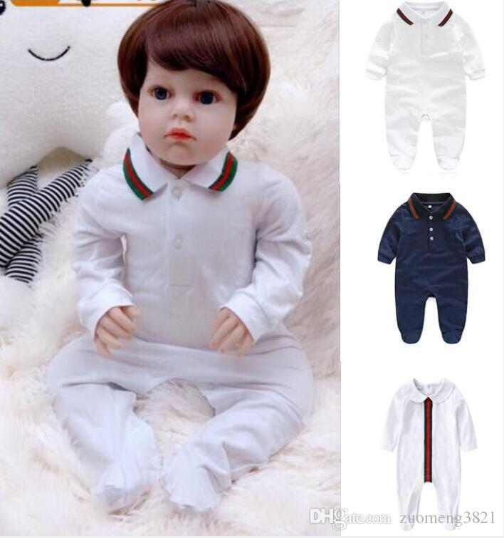 3cfb73b8619d 2019 Newborn Baby Boy Rompers Cute Clothes Baby Girl Clothes Infant Girl  Boys Romper Clothing 0 12M Baby Jumpsuit From Zuomeng3821, $21.11 |  DHgate.Com