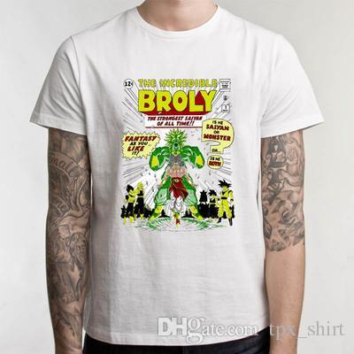 d4dc5c63 Broly T Shirt Dragon Ball Broli Short Sleeve Tees The Incredible ...