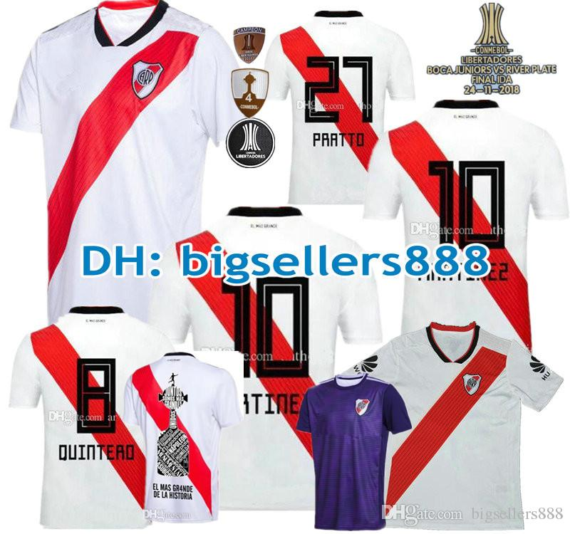 9e91ccf2c2a Top Thai Quality 18 19 RIVER PLATE Home Jersey Soccer D