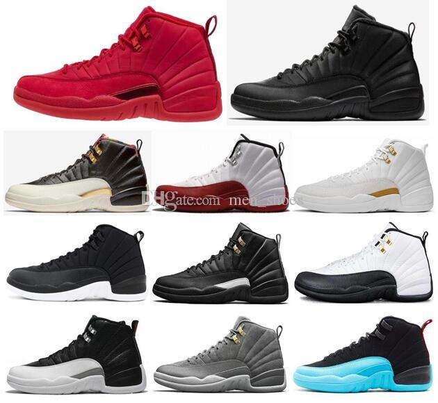 8af85d85f7f6 High Quality 12 12s Gym Red WNTR Winterized CNY Basketball Shoes Men Cherry  Playoff Taxi The Master Black Nylon Sports Sneakers With Box Mens Sneakers  ...