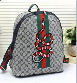 58ac78d108b 2019 GUCCI Men'S Women'Sleather Shoulder Bag Men'S Large Capacity Backpack  Travel Bag Fashion Leisure Schoolbag A11125 Bags Rucksack From  Tuotuo950624, ...