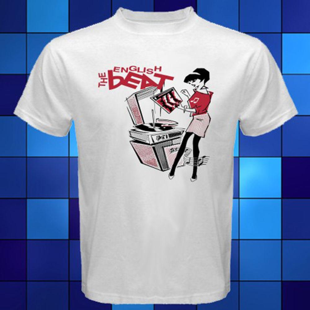 05a2b38c5 The English Beat Logo Group Rude Girl Ska 2 Tone White T Shirt Size S To 3XL  Awesome T Shirt Design Shirt And Tshirt From Boystshirts55, $11.63|  DHgate.Com