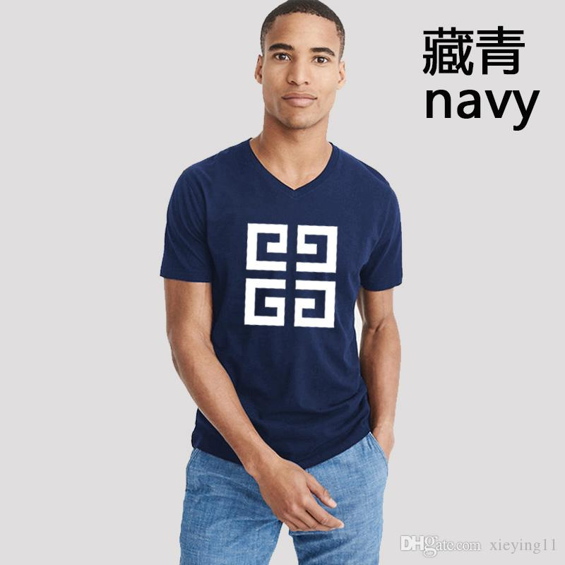 7c099e62 New Men's Fashion Short Sleeve T-shirt in Summer 2018 Men's Fashion of Half  Sleeve in Men's Society