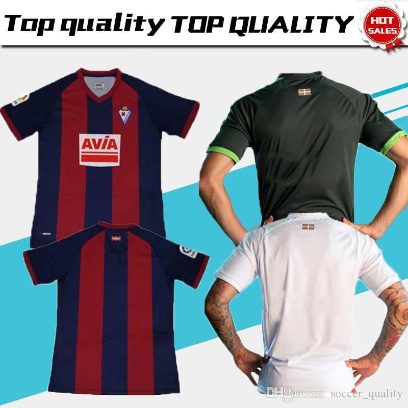 2018 19 SD Eibar Soccer Jerseys Futbol Camisetas Sociedad Deportiva Eibar Football  Camisa Shirt Kit Maillot Sociedad Deportiva Eibar Eibar Soccer Jersey ... d83a7cf9963c4