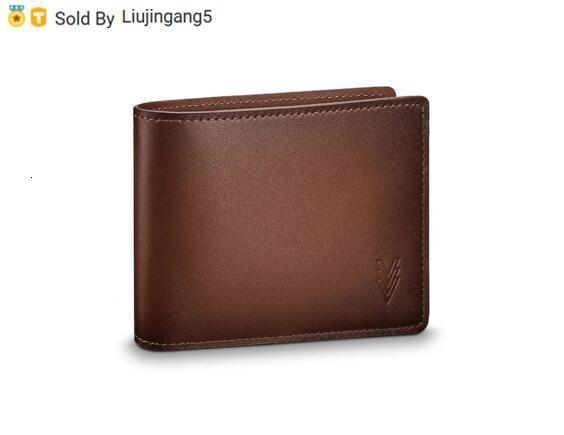 Liujingang5 MULTIPLE WALLET M61198 Men Belt Bags EXOTIC LEATHER BAGS ICONIC BAGS CLUTCHES Portfolio WALLETS PURSE