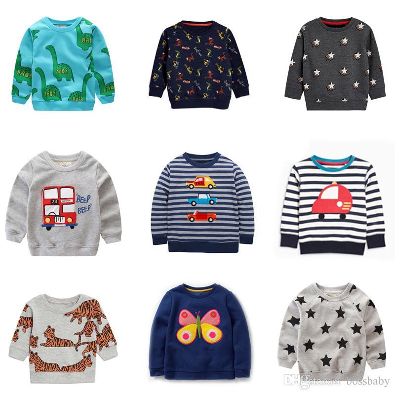 Compre Suéteres Para Niños Jersey Animal De Dibujos Animados Impreso ...