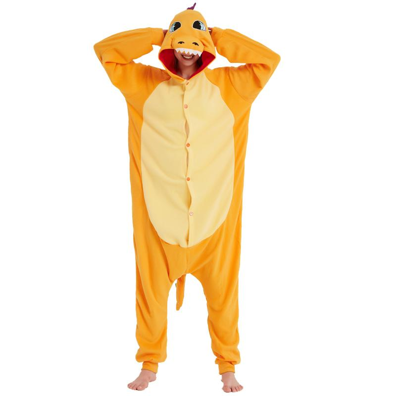 2019 Cute Go Charizard Adult Onesie For Women Kigurumi Men Pajamas