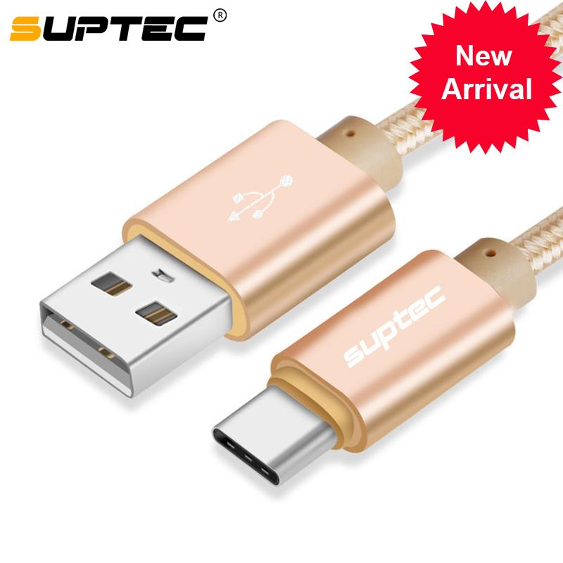 Suptec 2a Usb Type C Cable For Samsung S9 S8 Note 9 Fast Charging Type-c Charger Cable For Huawei P20 Xiaomi Mi 8 Oneplus 5 6 6t