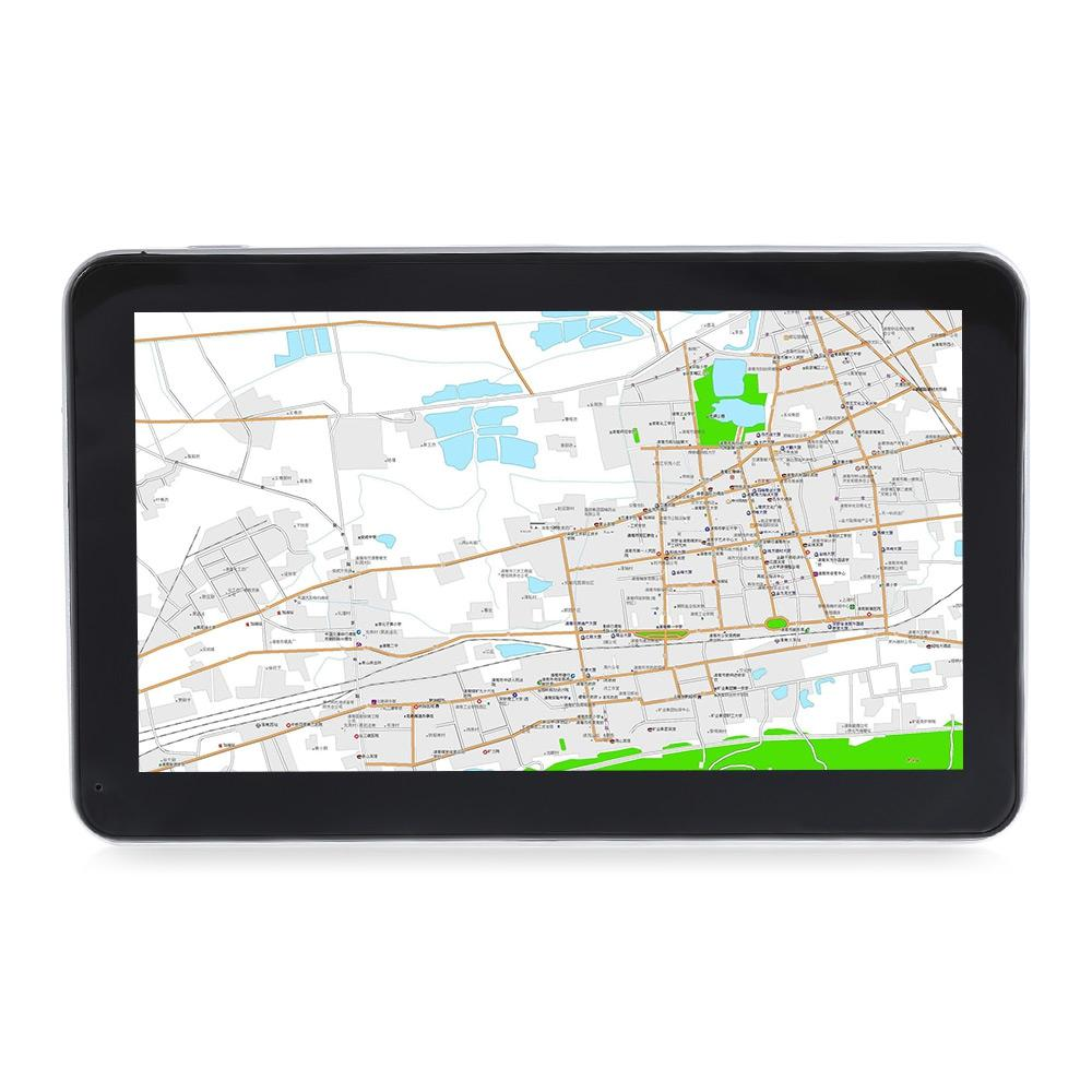 7 inch Touch Screen Truck Car GPS Navigation Auto Navigator with Free Maps Win CE 6.0 E-book Video Audio Game Player Function