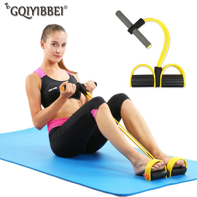 Brand New Fitness Gear Rubber Leg Pull Exerciser Chest Expander Leg Exerciser Resistance Bands For Home Gym Workout Fast Color Resistance Bands