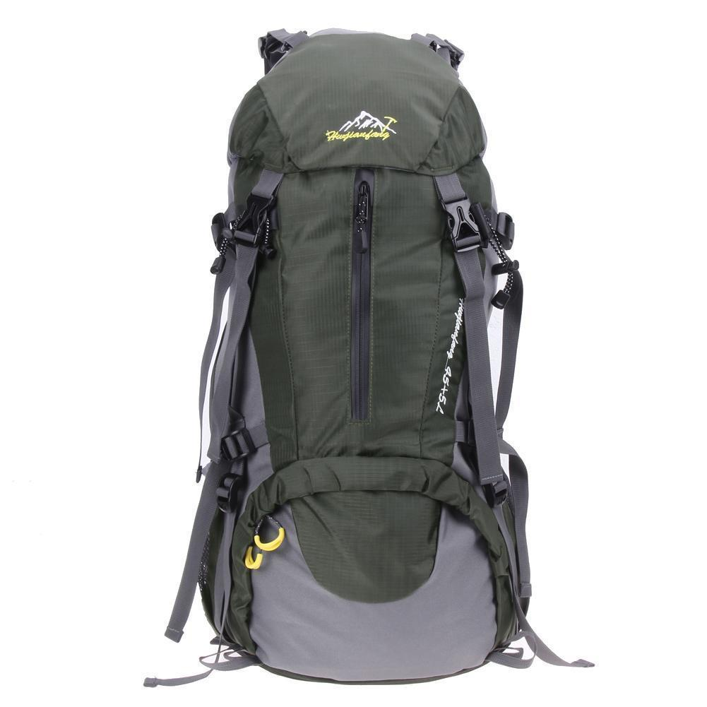 01f88136c0 50L Large Capacity Waterproof Nylon Climbing Mountaineering Travel Backpack  Sport Hiking Rucksack Outdoor Bags With Rain Cover Cute Backpacks Hiking ...