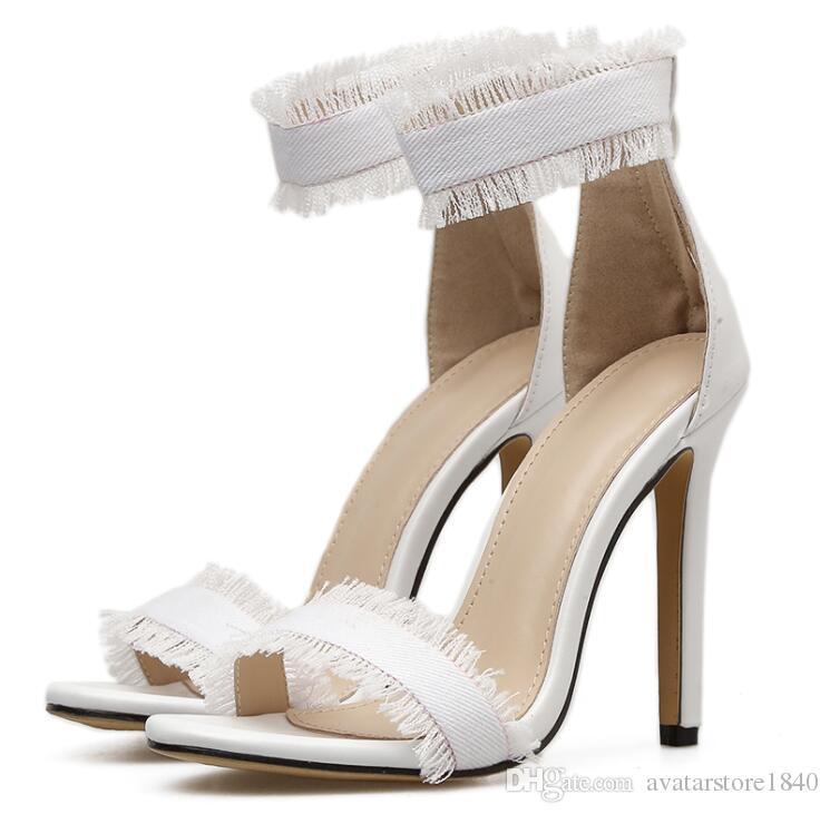compre tacones de gladiador sandalias altas zapatos de verano para