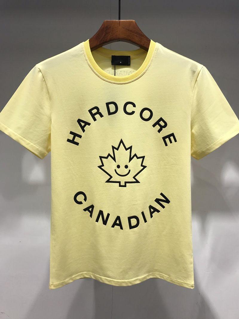 75501f65284 Summer'S Most Popular Men'S Wear Designer T Shirt Brand Men'S Wear  Monogrammed Round Neck Pure Cotton Short Sleeve Men T Shirts Geek T Shirts  From Zjh59420, ...