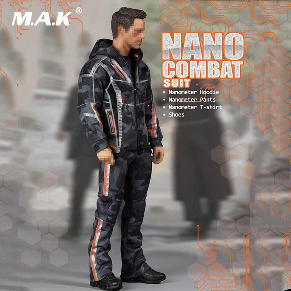 21fbce3b0c Compre 1  6 Conjunto De Ropa Masculina NANO COMBAT TRAIT Modelo De Zapatos Para  12 Pulgadas De Iron Man Tony Figura De Acción Accesorio A  68.66 Del ...
