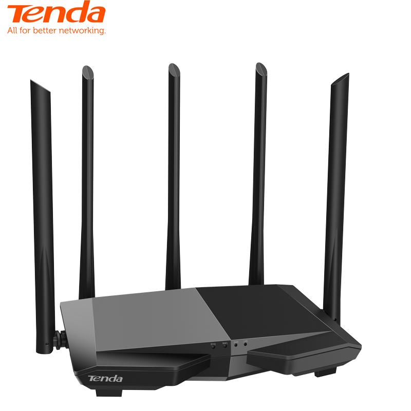 Tenda AC7 AC1200M Wireless WiFi Router with 2.4Ghz/5.0Ghz High Gain Antenna Home Coverage Dual Band Wifi ,Easy Setup