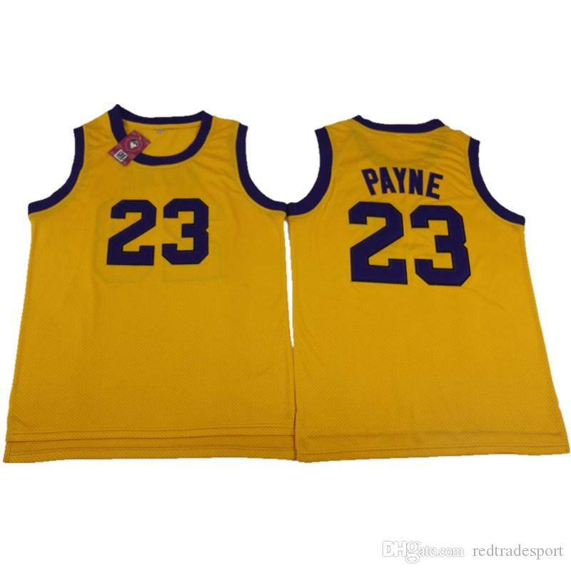 55e437ab1ba 2019 Mens Martin TV Show Martin Payne  23 Basketball Jersey Color Yellow  Martin Lawrence All Stitched Basketball Shirts S XXL From Redtradesport