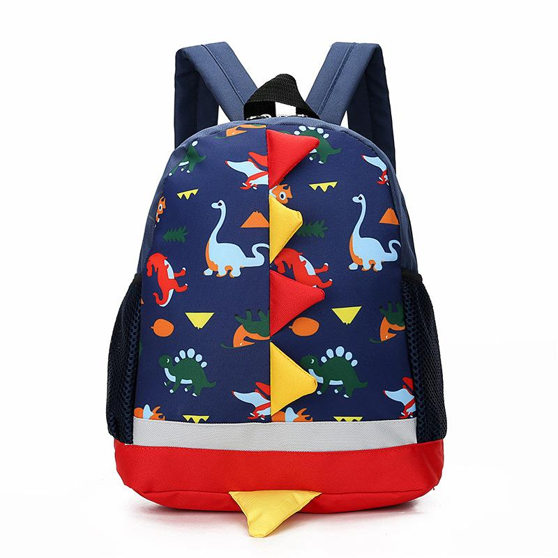 kids backpack Children Kindergarten Cute Cartoon Dinosaur canvas designer handbags casual sport Bags kids handbags 3-4-6 Baby Backpacks