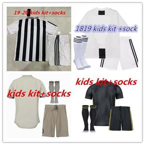 3a3faefe3 2019 18 19 20 Kids Kits +Socks JUVENTUS RONALDO Home Away 3rd Soccer ...