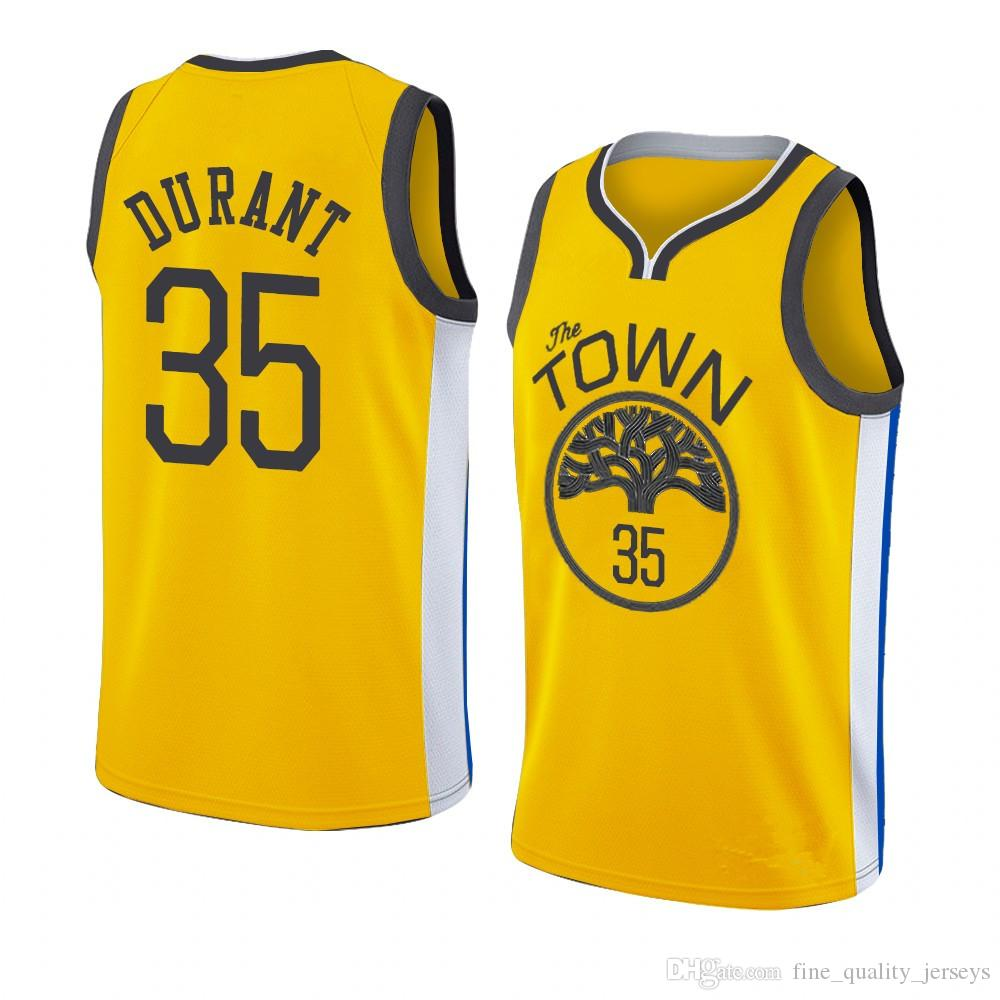 low priced 353a8 fe494 Stephen 30 Curry Blue Golden Mens State Basketball Jerseys Warriors Kevin  35 Durant Draymond 23 Klay# 11 Thompson Andre 9 lguodala