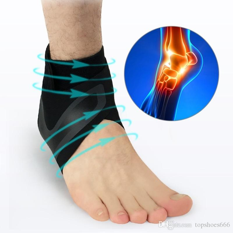 60454e0b02 2019 Ankle Support Socks Men Women Lightweight Breathable Compression Anti  Sprain Left / Right Feet Sleeve Heel Cover Protective Wrap #362773 From ...