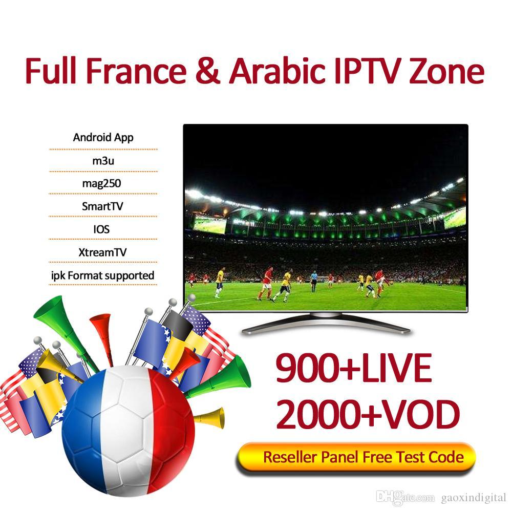 900+ Live tv Arabic iptv subscription for android abonnement iptv 1/3/6/12  months abbonamento iptv Support M3U Mag Box Smart TV