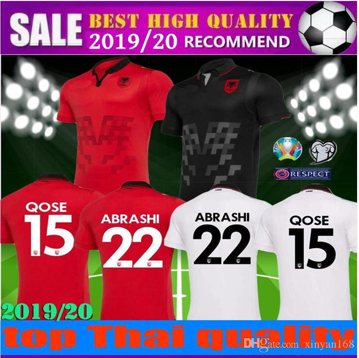 d981d394fbf 2019 19 20 Republic Of Albania Soccer Jerseys HYSAJ XHAKA Custom 2019 2020 European  Cup S XXL Albania Home Red Away Football Jersey Shirt From Xinyan168, ...