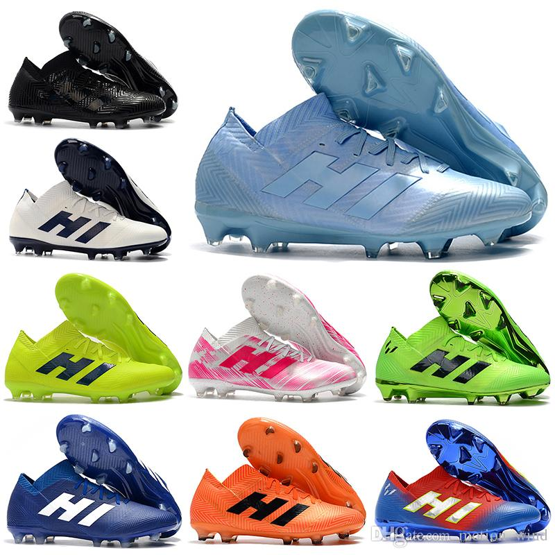 ... Soccer Shoes  wide range 2018 World Cup Mens Low Ankle Football Boots  NEMEZIZ 18+ 360 Agility FG ... 6485befca05