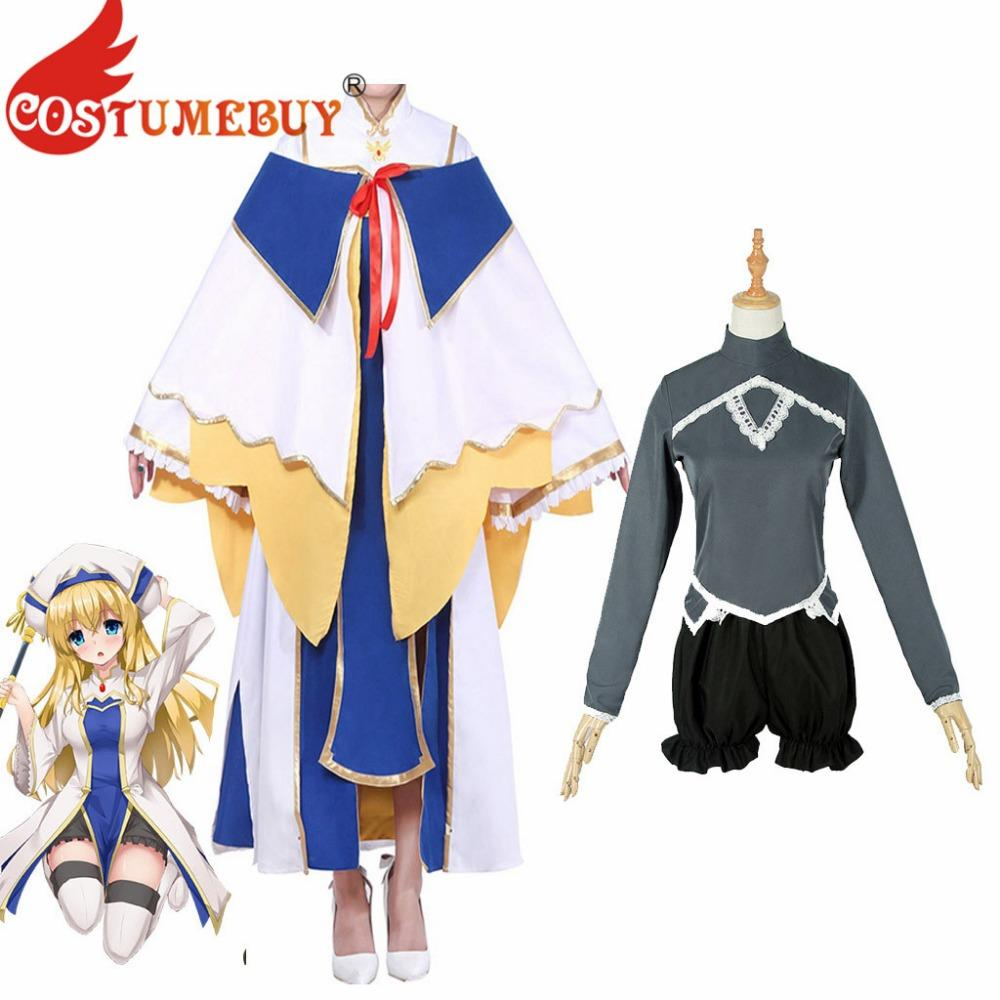 dbc063c58 CostumeBuy Anime Goblin Slayer Cosplay Costume Onna Shinkan Cosplay Outfit  Women Priest Robe Costume L920 Moulin Rouge Costumes Anime Outfits From  Weilad, ...