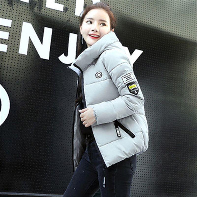 huge discount 86d04 39121 Piumino da donna corti moda invernale coreana moda slim da donna coreana  2018
