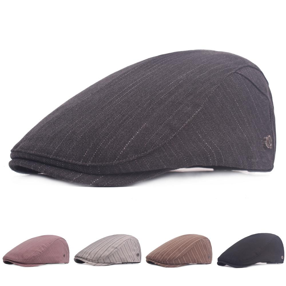 adf30f67fbd3f Korean Version of the Beret Young Men s And Women s Cap Cap Small Fresh  Cotton Advance Cap Middle-aged Men Hats Scarves Gloves Hats Caps Berets  Online with ...