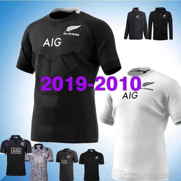 2019 2020 New Zealand All Blacks Home Away Rugby Jerseys Super Rugby Shirt  All Blacks Jersey Size S-5xL New Zealand All Blacks All Blacks Training  Jersey ... 215369e31