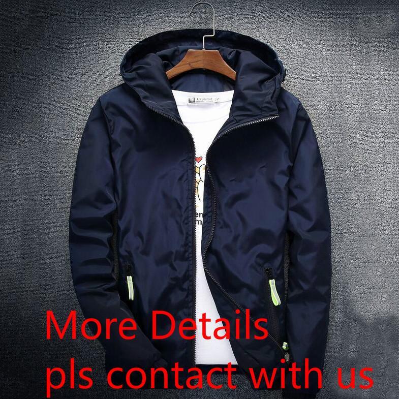 Fashion Brand Mens Jackets Coat Autumn Designer Hooded Jacket With ... 49e709bc2