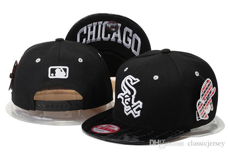 Compre Chicago White Sox Snapback MLB Gorra De Béisbol Golf Sombreros Para  Adultos Hombres Mujer Deportes Sol Sombreros Amp Caps A  9.04 Del  Classicjersey ... 852b89e21cd