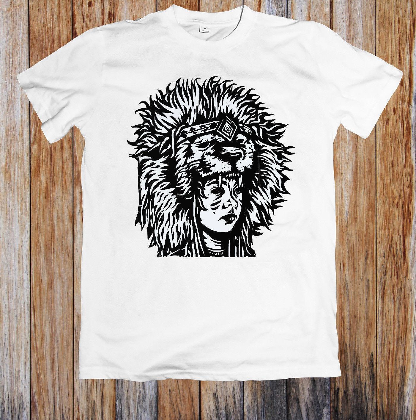 fd5e3f8a5ace TRIBAL HEAD DRESS SHAMAN UNISEX T SHIRT 2018 Summer New Brand T Shirt Men T  Shirt Casual Fitness Design Tee Shirts T Shirt Funny From Yubin07, ...
