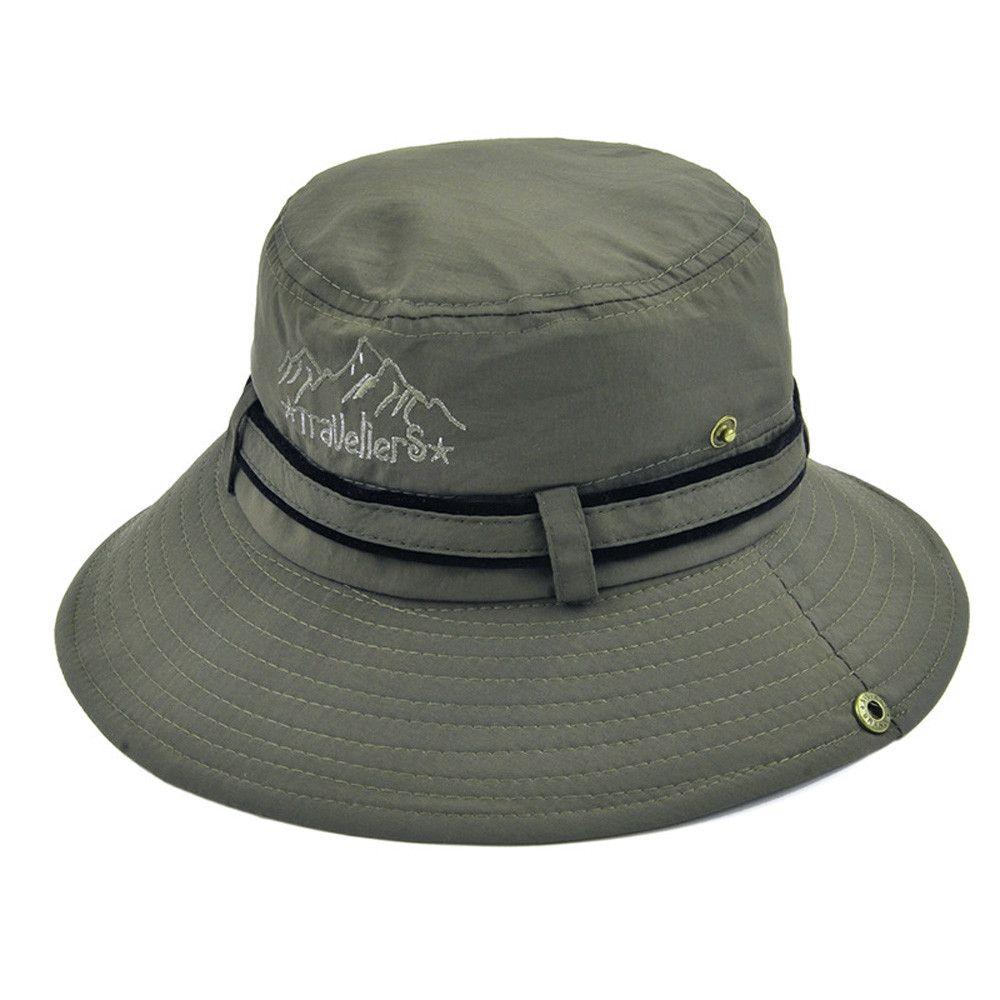 Compre Sombreros De Pescador De Invierno De 2019 Para Mujer Hombres Unisex  Sombrero De Cubo Plano Con Gorra Para El Sol Sombrero Para Exteriores A   36.03 ... f5889f78e6a
